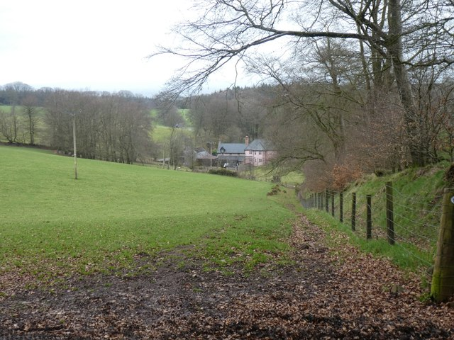 Path to Great Quantock Farm
