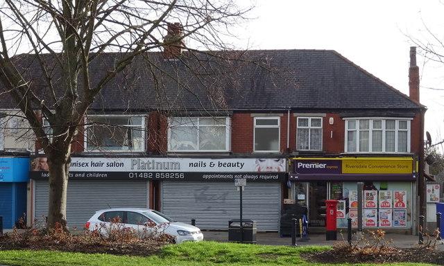 Shops on Beverley Road, Hull