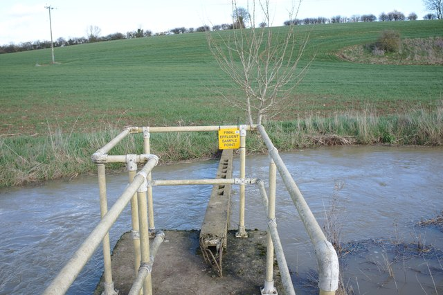 Effluent sampling platform