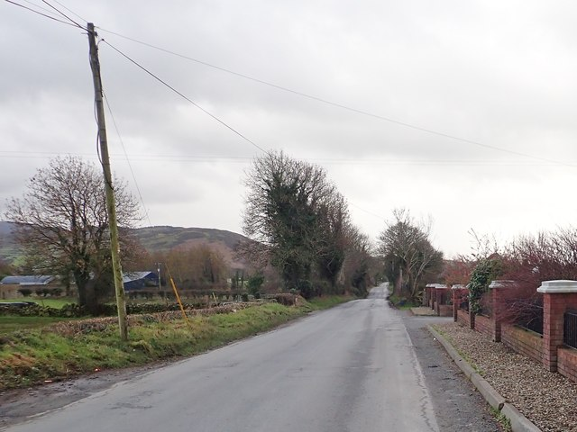 View South along Newtown Road