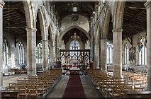 TF4024 : Interior, St Mary Magdalene church, Gedney by Julian P Guffogg