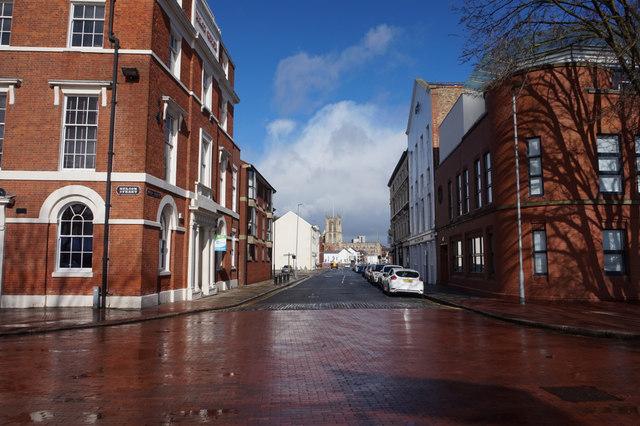 Queen Street from Nelson Street, Hull