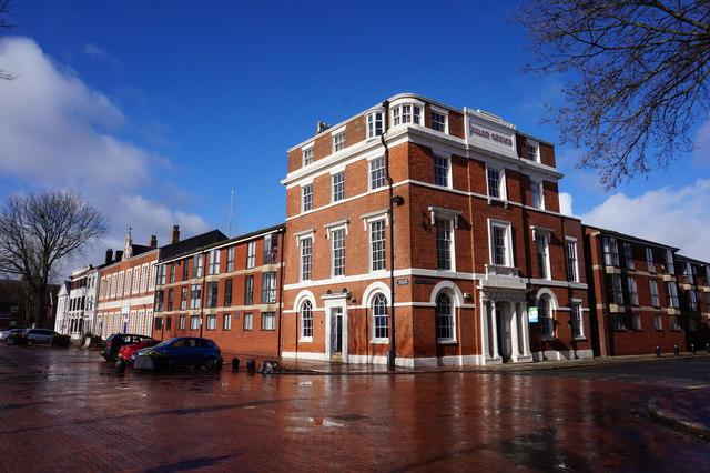 Former Pilot Office on Queen Street, Hull