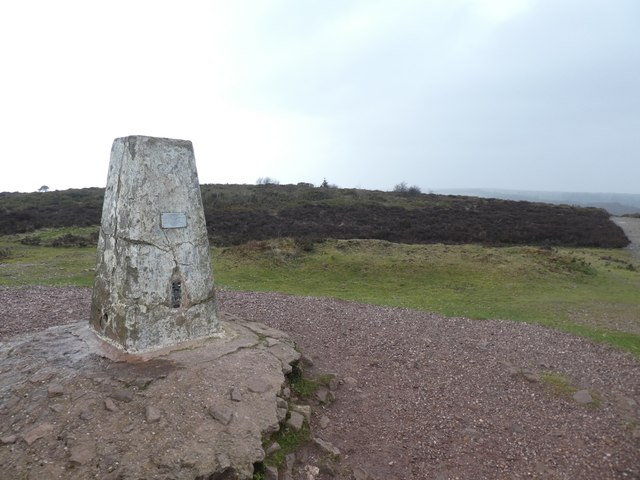 The trig pillar on Wills Neck