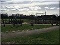SP3609 : Playground off Church Lane by Shaun Ferguson