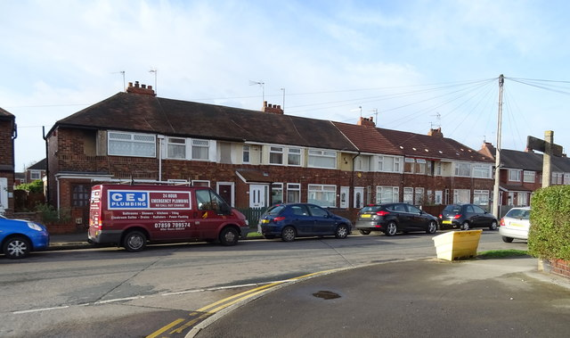 Houses on Welwyn Park Avenue, Hull