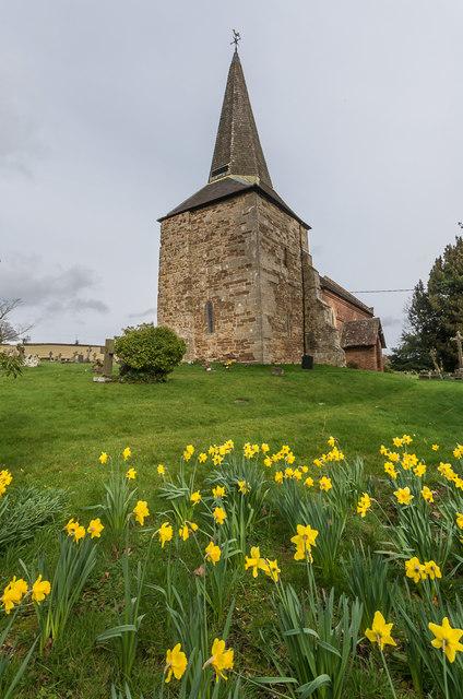 St Peter's Church, Coreley