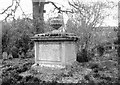 TG2408 : The monument of Henry Chamberlin (d 4 March 1848) by Evelyn Simak