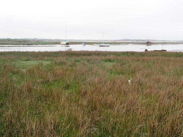 The estuary of the River Artro