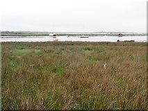 SH5727 : The estuary of the River Artro by Eirian Evans