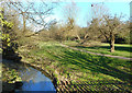 TQ2591 : Dollis Brook and Greenwalk in Finchley by Des Blenkinsopp