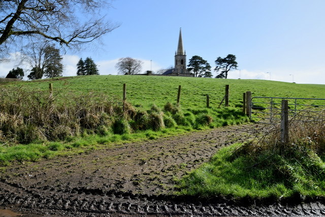 Church over the hill, Mountjoy Forest East Division