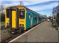 SO1367 : Dolau railway station by Alan Hughes