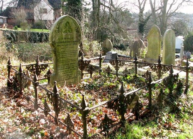 The grave of Ellen Elizabeth Smith