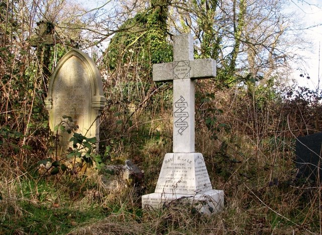 The grave of William J Gale