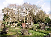 TG2408 : Graves in Rosary Cemetery by Evelyn Simak