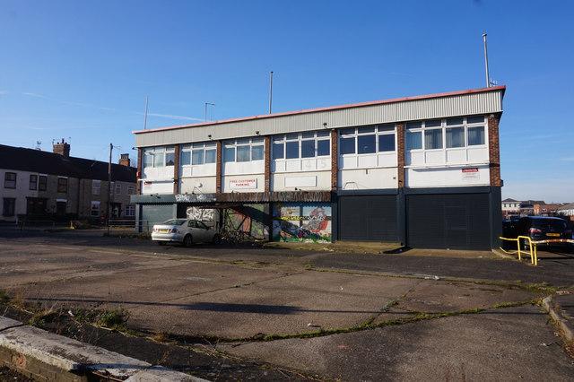 Derelict building on Caroline Street, Hull