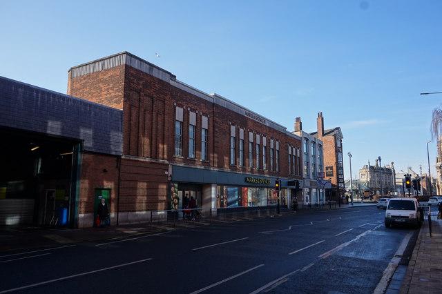 Marks & Spencer on Alfred Gelder Street, Hull