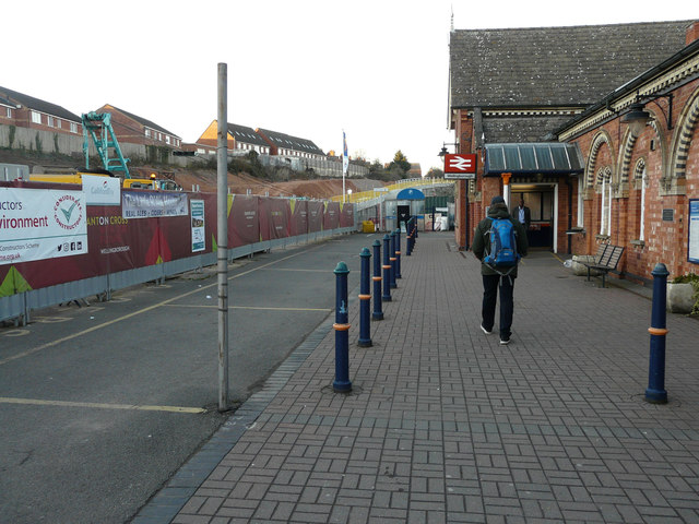 Entrance to Wellingborough Station