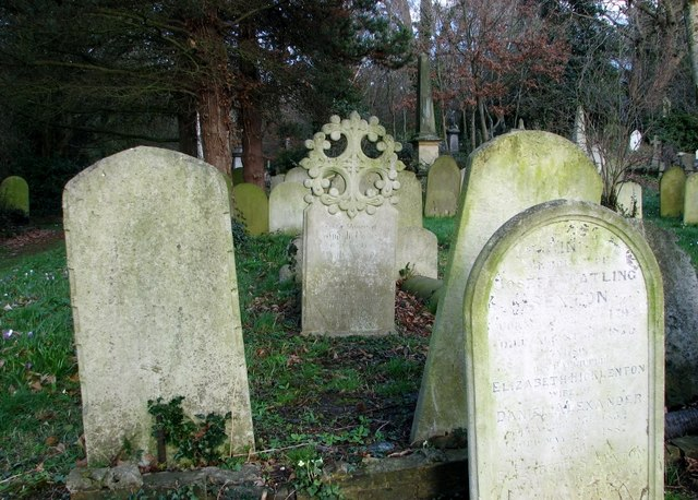 The grave of Judith Neave