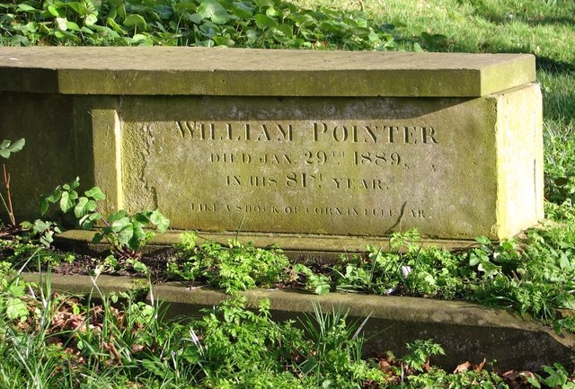The grave of William Pointer