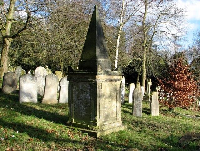 Obelisk-topped monument