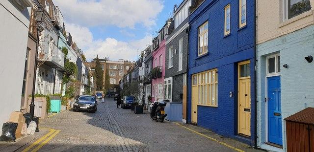 St Lukes Mews, Notting Hill, London