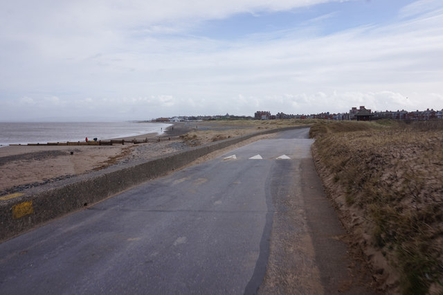 Lancashire Coastal Way at Fleetwood