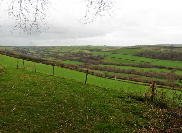 Above the Yeo Valley