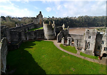 ST5394 : Chepstow Castle by Chris Gunns