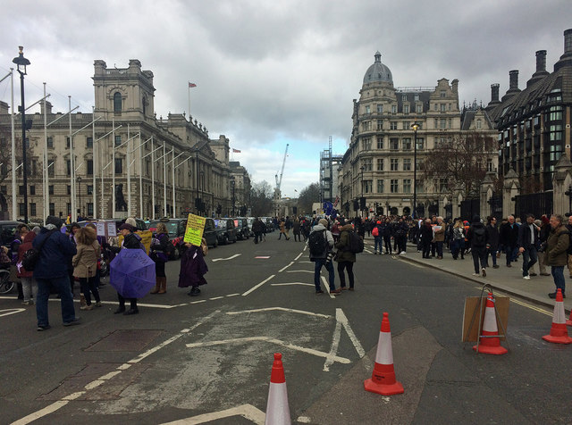Demonstrations, Parliament Square (2)