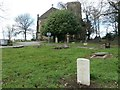 SE3121 : Commonwealth war grave in Alverthorpe churchyard [1] by Christine Johnstone