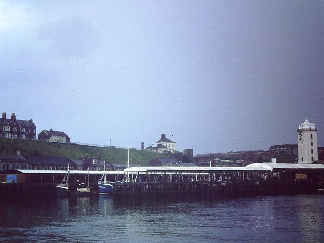North Shields fish quay, 1982