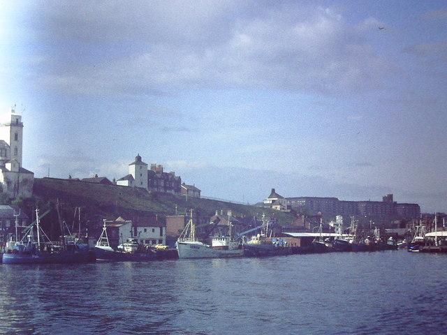 North Shield fish quay 1982