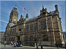 SK3587 : Sheffield Town Hall by Neil Theasby