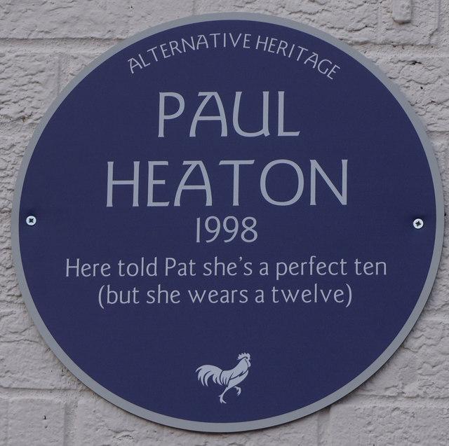 Alternative Heritage Blue Plaque