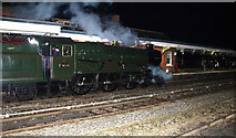 SO8555 : Steam special - Shrub Hill Station by Chris Allen