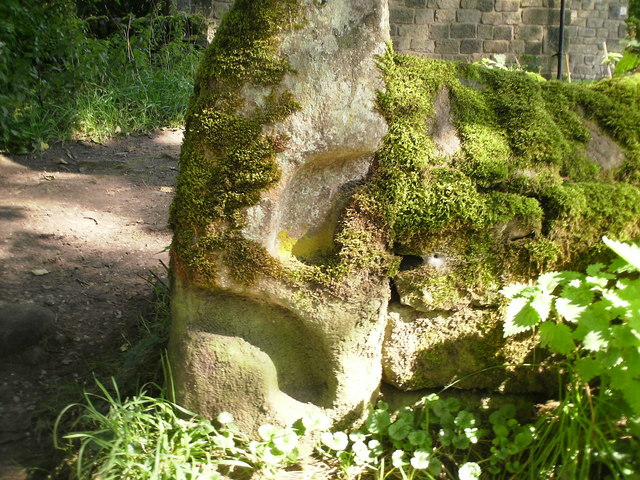 Old Gatepost Wycoller.