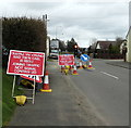 SM9617 : Joining traffic not signal controlled, Cardigan Road, Haverfordwest by Jaggery