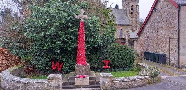 Greenhead war memorial