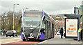 J3473 : Glider bus, East Bridge Street, Belfast - March 2019(2) by Albert Bridge
