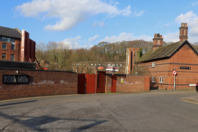 The site of Brook Mill, Congleton