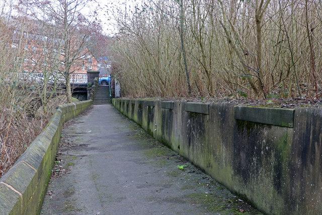 Site of Dane Bridge Mill
