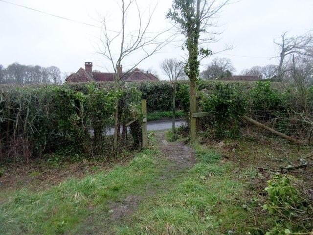 Path to Pickhurst Lane, RH20 1DA