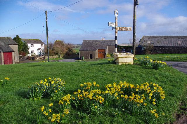 Village green, Threapland