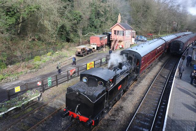 Severn Valley Railway - the 'Coal Tank'