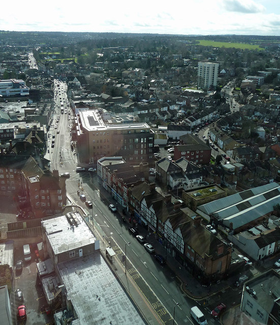 View from Leon House, High Street (2)
