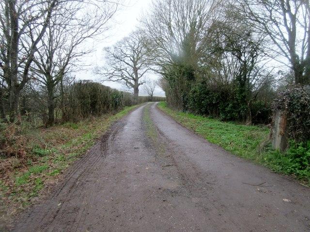Track to Haybarn