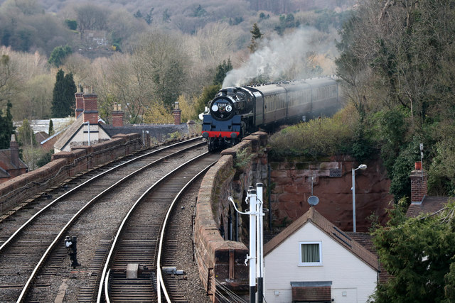 Severn Valley Railway - southbound to Bewdley