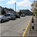 SS5889 : On-street parking, The Glebe, Bishopston by Jaggery